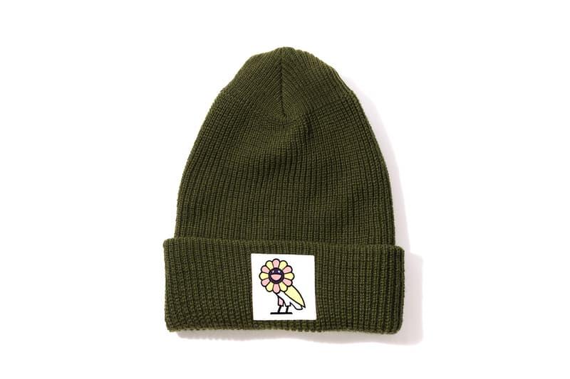Takashi Murakami x OVO Collection Beanie Green