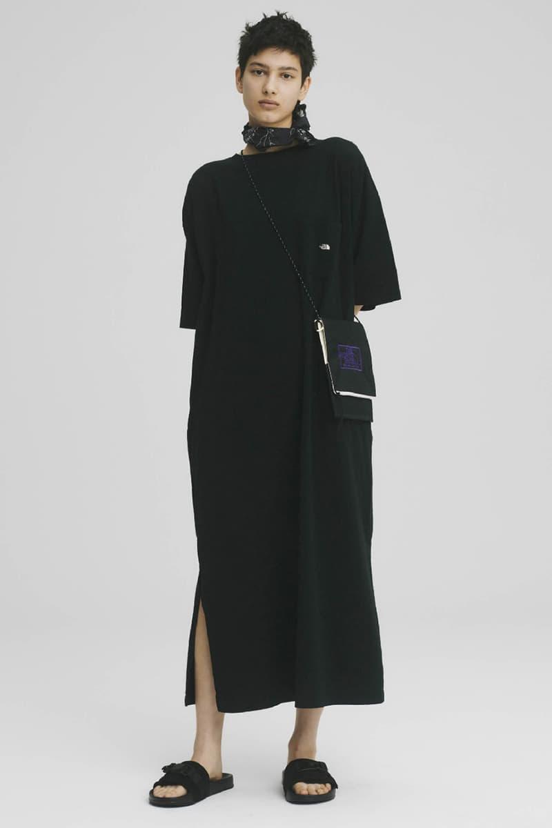 THE NORTH FACE PURPLE LABEL Spring Summer 2020 Collection Lookbook Long Dress Black Slides