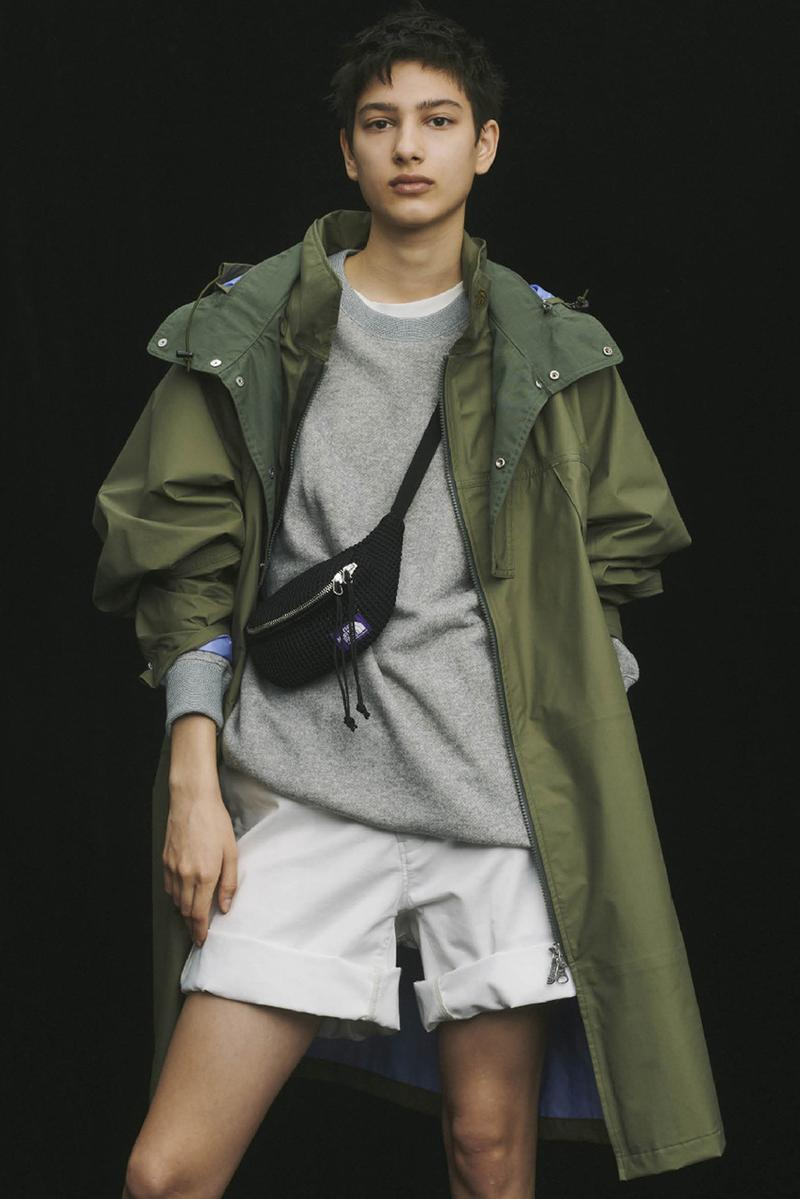THE NORTH FACE PURPLE LABEL Spring Summer 2020 Collection Lookbook Parka Green Pullover Gray