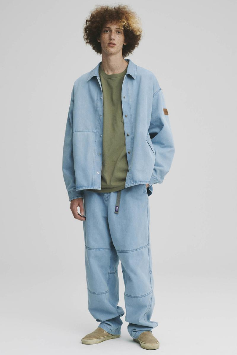 THE NORTH FACE PURPLE LABEL Spring Summer 2020 Collection Lookbook Shirt Pants Denim