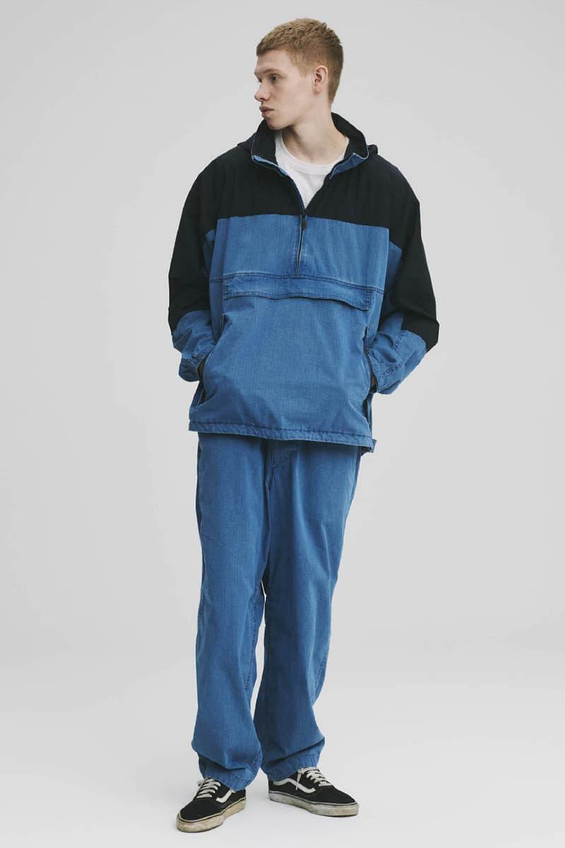 THE NORTH FACE PURPLE LABEL Spring Summer 2020 Collection Lookbook Quarter Zip Pants Denim