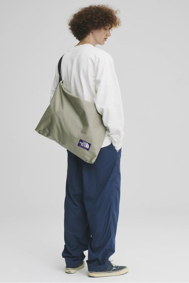 THE NORTH FACE PURPLE LABEL Spring Summer 2020 Collection Lookbook Messenger Bag