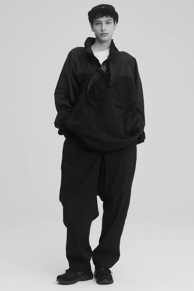 THE NORTH FACE PURPLE LABEL Spring Summer 2020 Collection Lookbook Quarter Zip Black