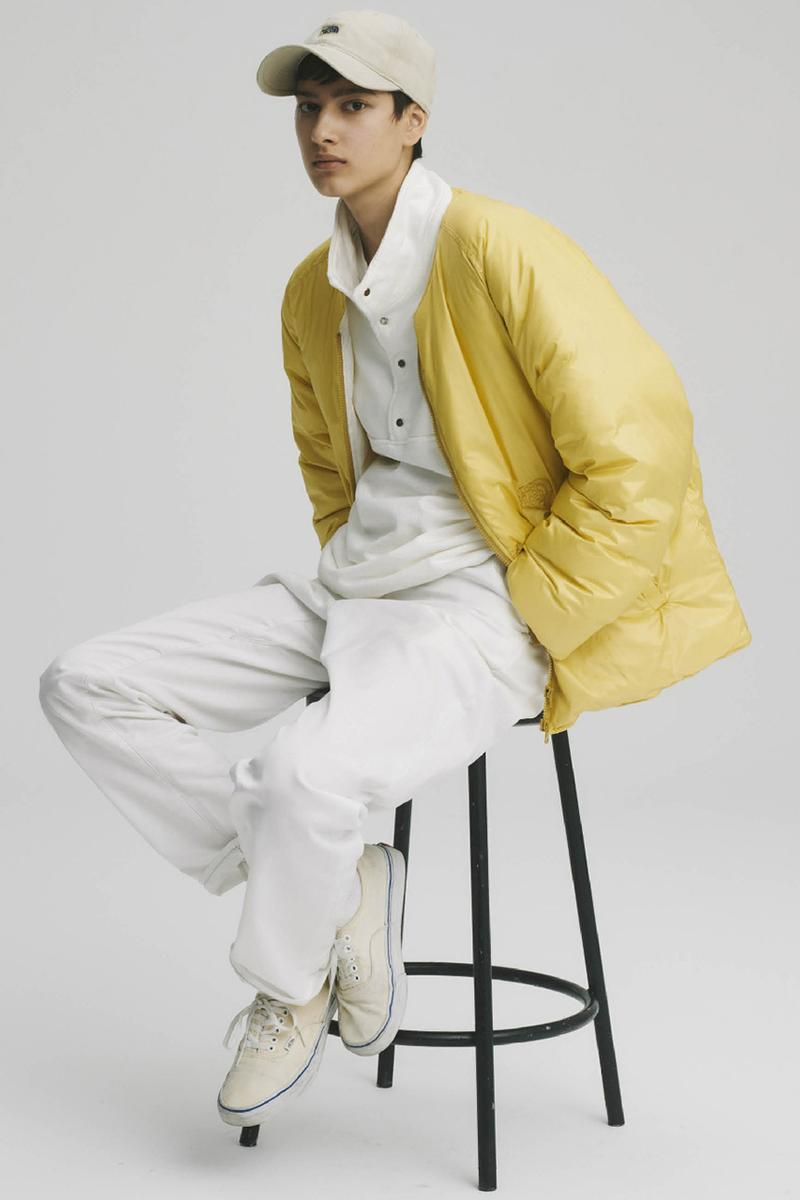 THE NORTH FACE PURPLE LABEL Spring Summer 2020 Collection Lookbook Puffer Jacket Yellow
