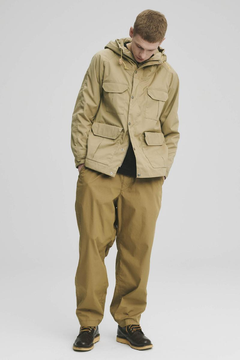 THE NORTH FACE PURPLE LABEL Spring Summer 2020 Collection Lookbook Jacket Beige