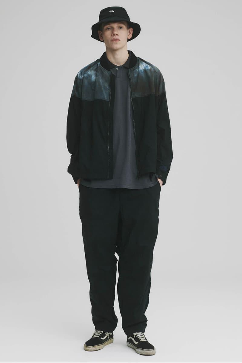 THE NORTH FACE PURPLE LABEL Spring Summer 2020 Collection Lookbook Fleece Jacket Tie Dye