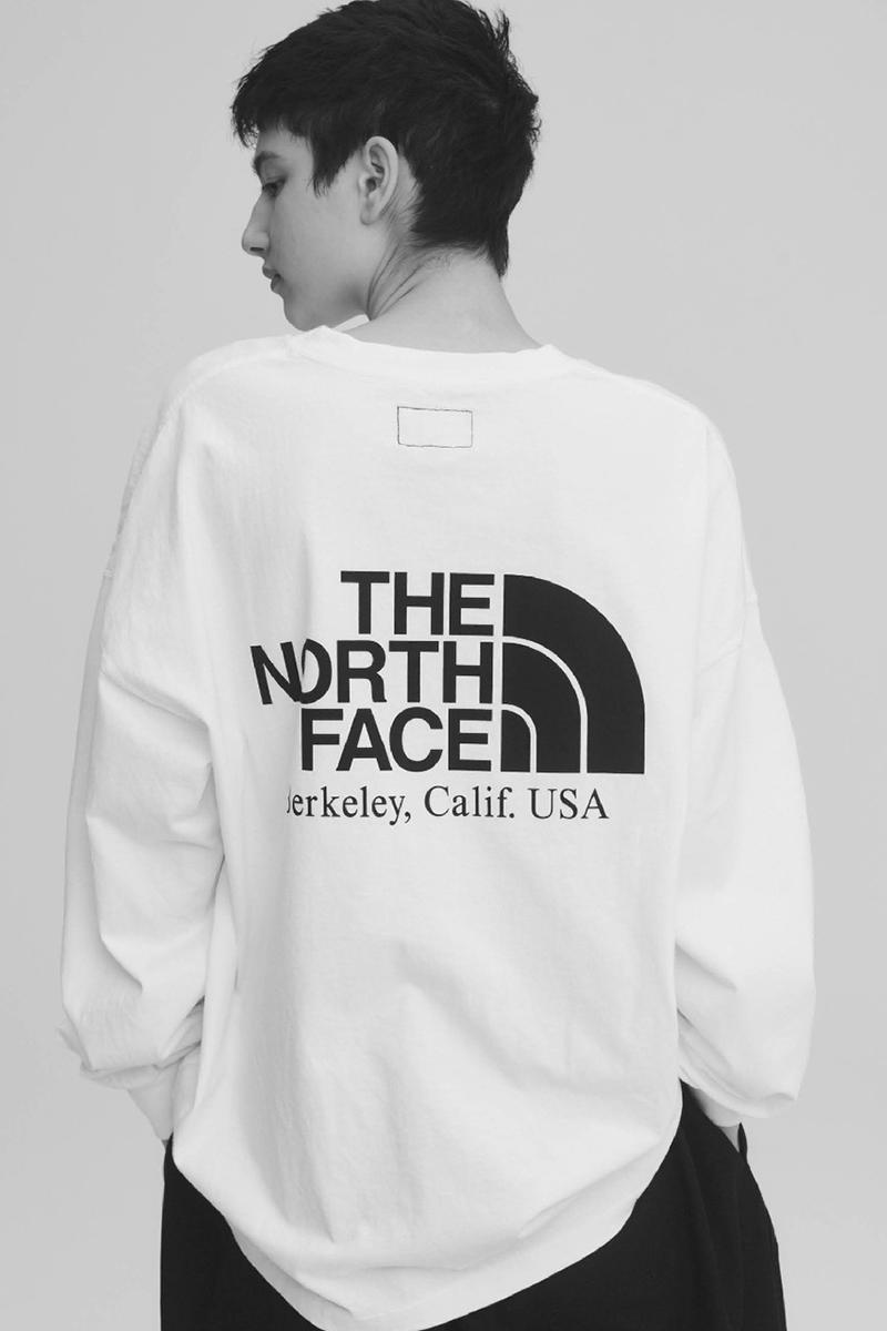 THE NORTH FACE PURPLE LABEL Spring Summer 2020 Collection Lookbook Logo Long Sleeve