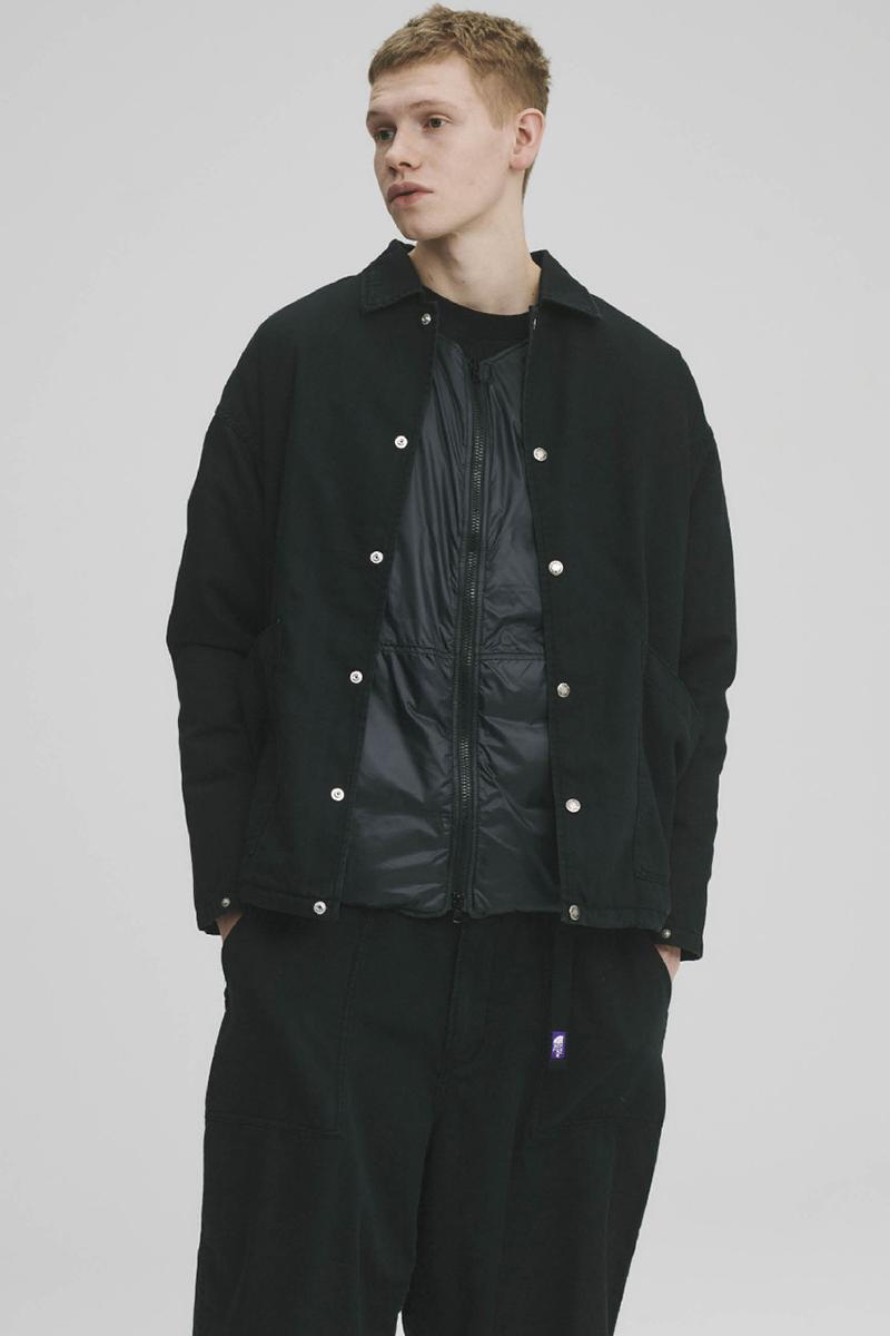 THE NORTH FACE PURPLE LABEL Spring Summer 2020 Collection Lookbook Button Down Black