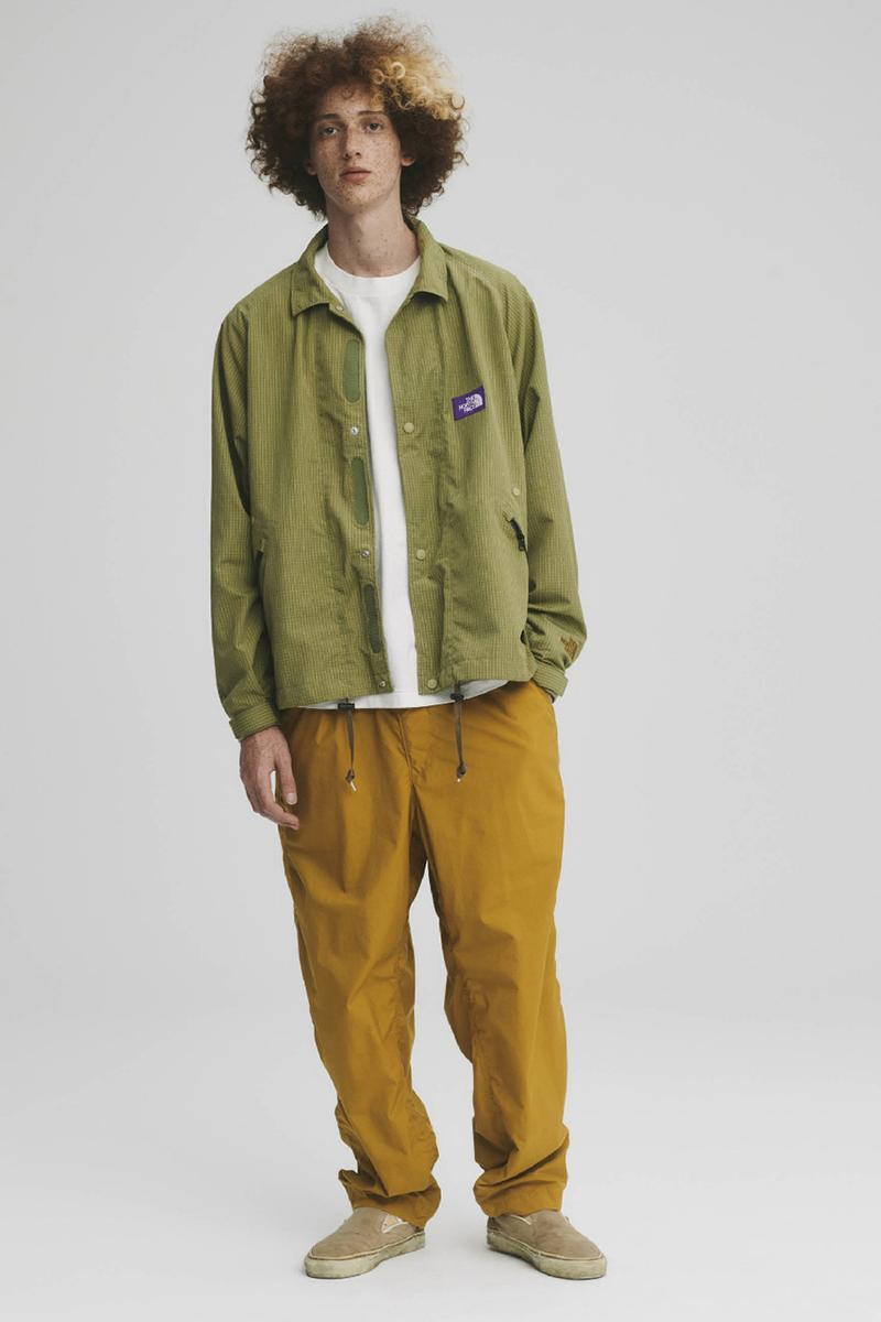 THE NORTH FACE PURPLE LABEL Spring Summer 2020 Collection Lookbook Button Down Green