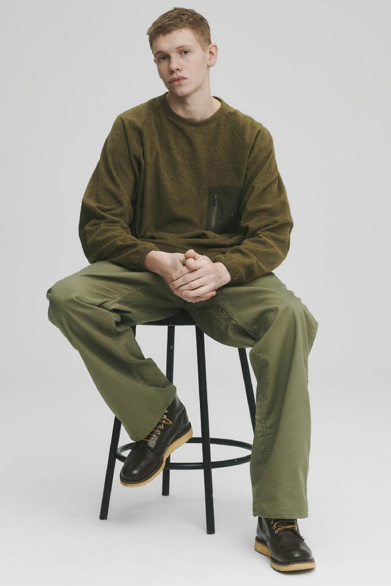 THE NORTH FACE PURPLE LABEL Spring Summer 2020 Collection Lookbook Long Sleeve Pocket Green