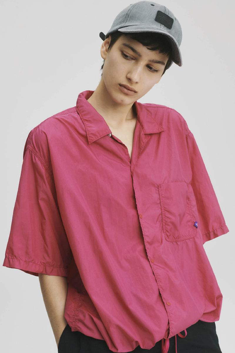 THE NORTH FACE PURPLE LABEL Spring Summer 2020 Collection Lookbook Nylon Shirt