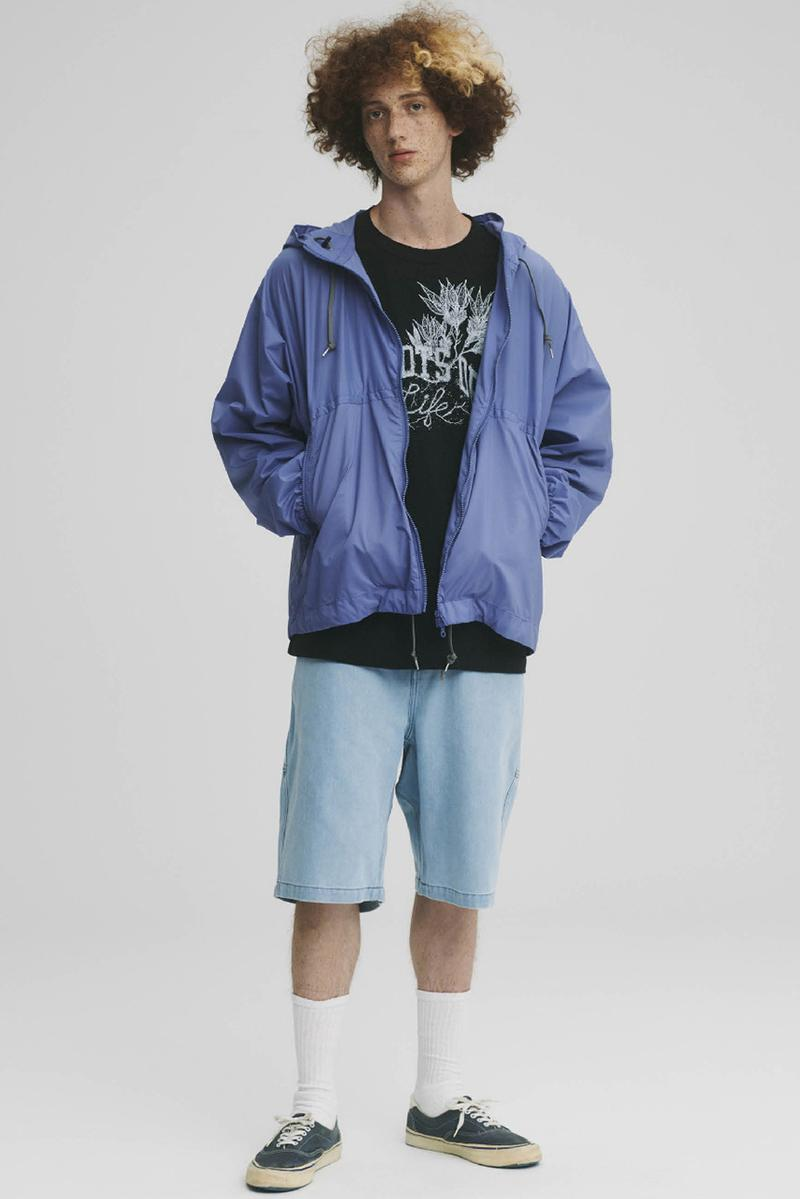 THE NORTH FACE PURPLE LABEL Spring Summer 2020 Collection Lookbook Windbreaker Blue