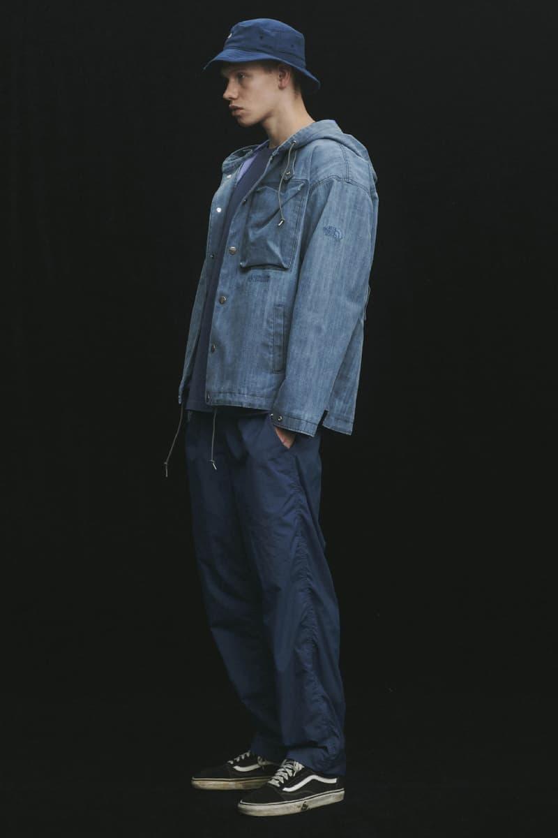 THE NORTH FACE PURPLE LABEL Spring Summer 2020 Collection Lookbook Jacket Denim