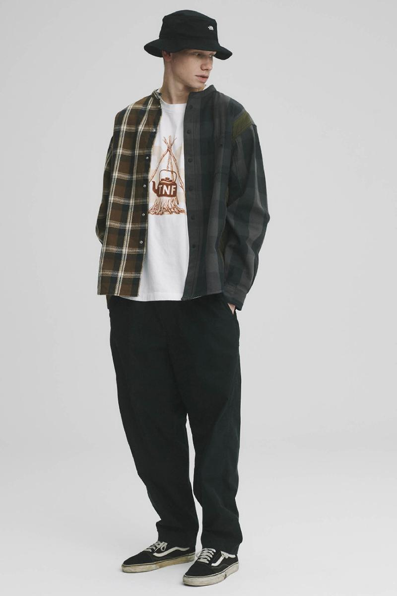 THE NORTH FACE PURPLE LABEL Spring Summer 2020 Collection Lookbook Plaid Shirt