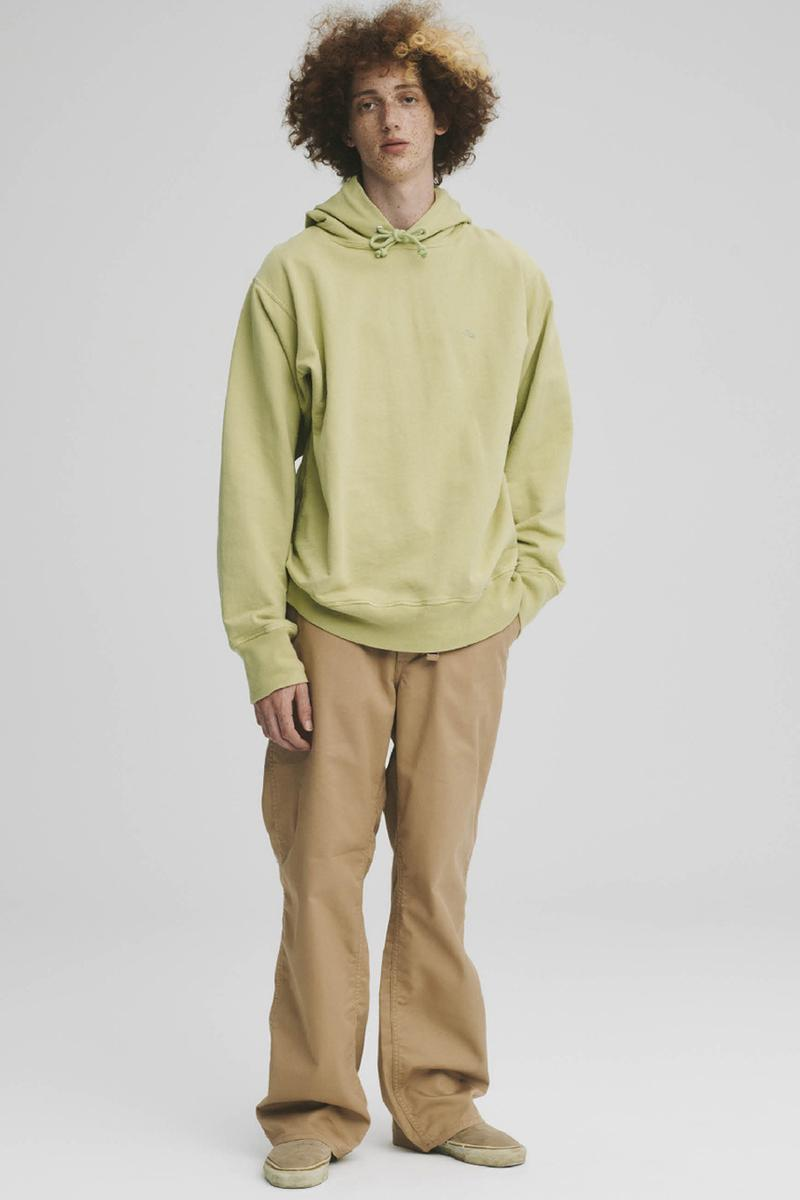 THE NORTH FACE PURPLE LABEL Spring Summer 2020 Collection Lookbook Hoodie Grey Khaki Pants