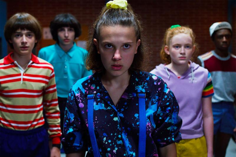 Stranger Things Millie Bobbie Brown Finn Wolfhard Sadie Sink Cast