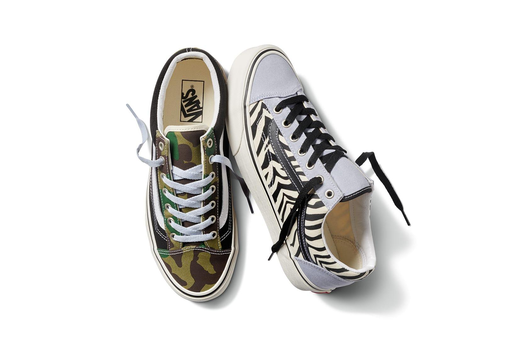 Vans Mismatched Era, Slip-On \u0026 Style 26
