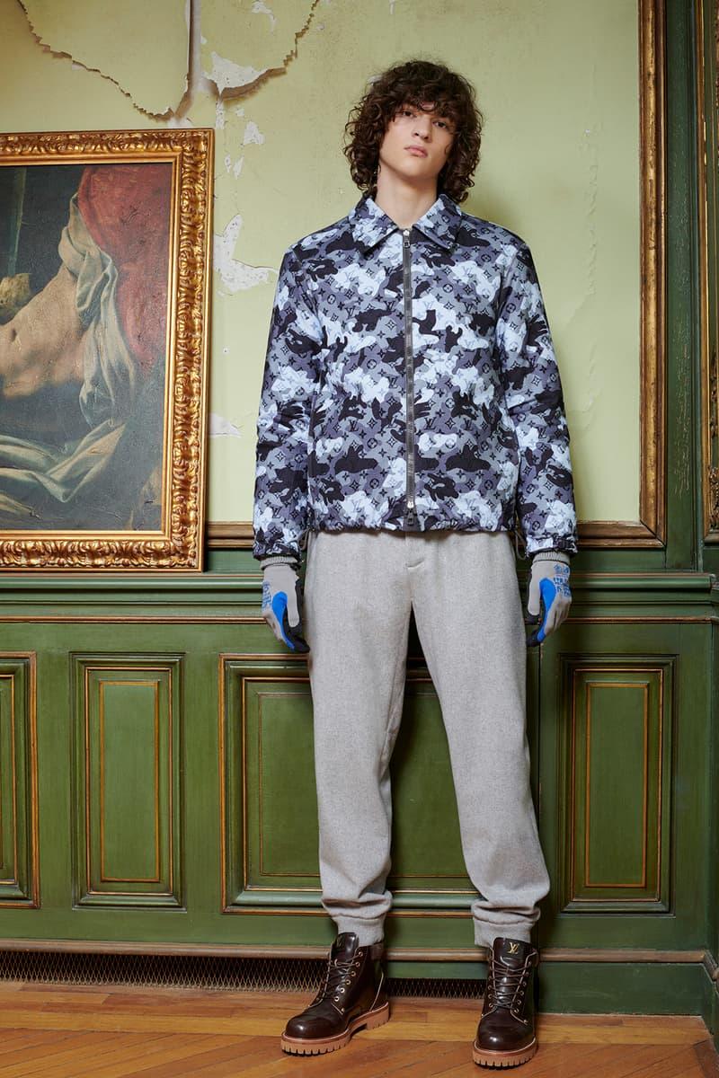 Virgil Abloh Louis Vuitton Pre-Fall 2020 Collection Lookbook Camo Monogram Jacket