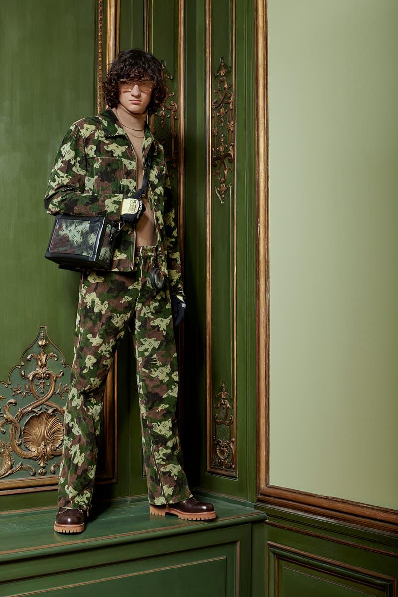 Virgil Abloh Louis Vuitton Pre-Fall 2020 Collection Lookbook Camo Jacket Pants