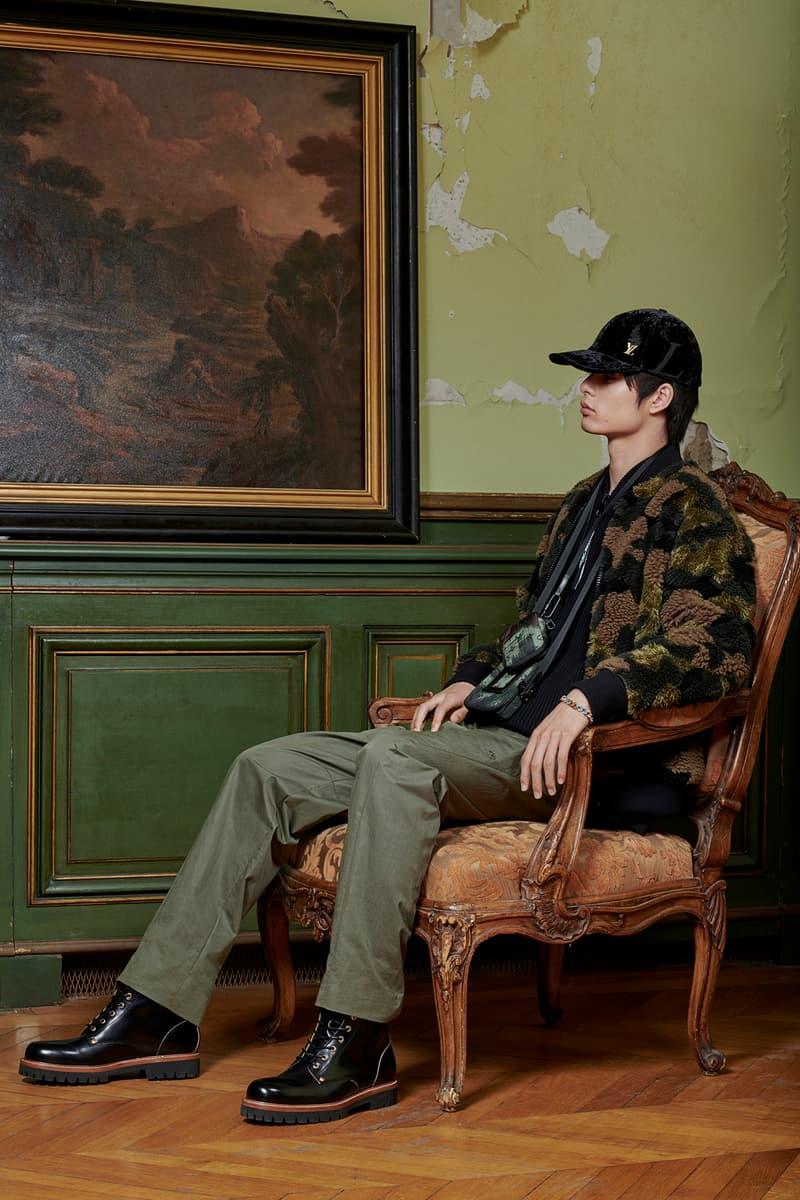 Virgil Abloh Louis Vuitton Pre-Fall 2020 Collection Lookbook Camo Jacket