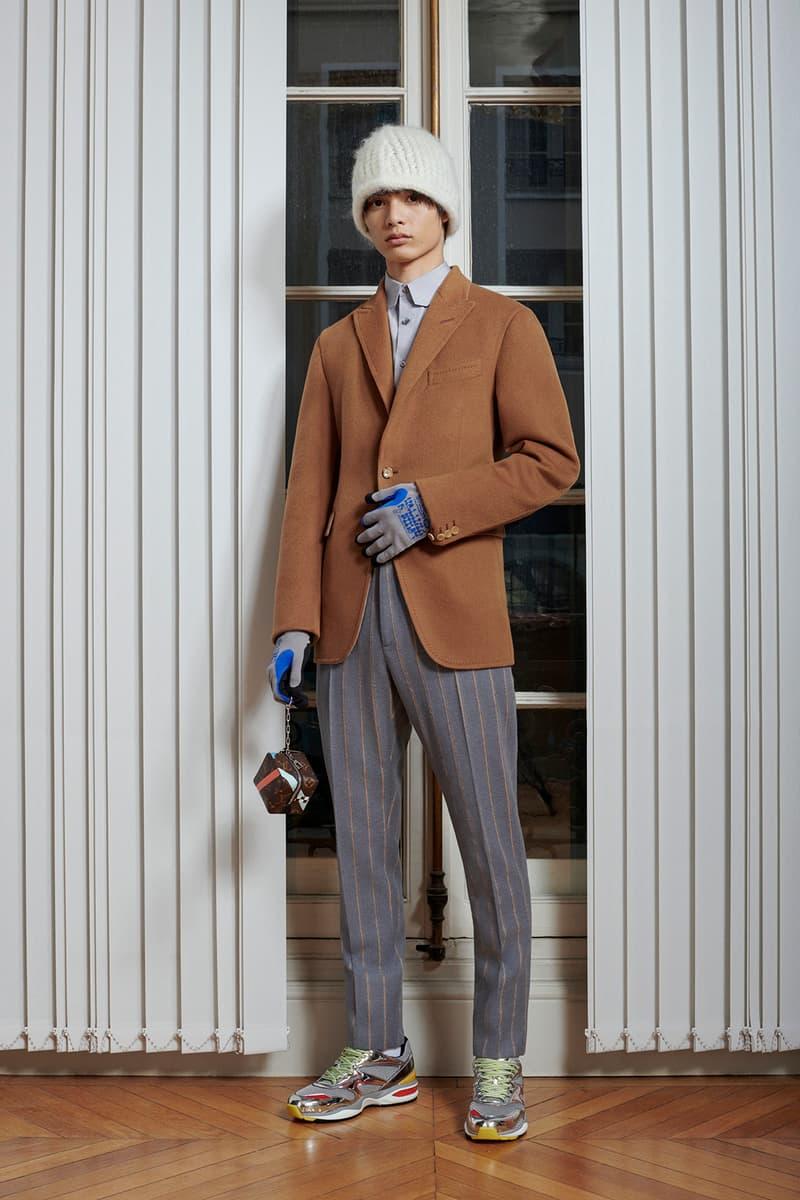 Virgil Abloh Louis Vuitton Pre-Fall 2020 Collection Lookbook Blazer Camo