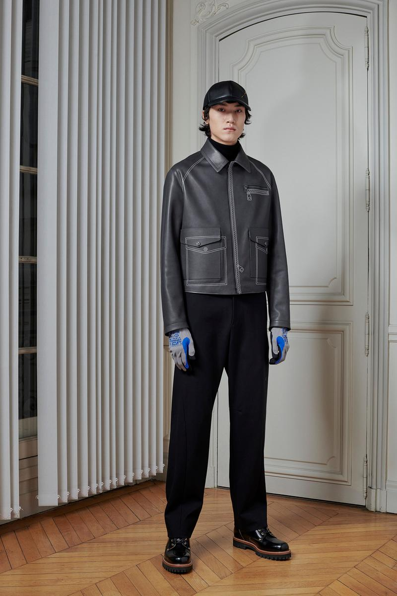 Virgil Abloh Louis Vuitton Pre-Fall 2020 Collection Lookbook Tailored Jacket Grey