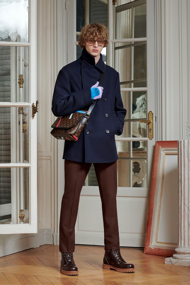 Virgil Abloh Louis Vuitton Pre-Fall 2020 Collection Lookbook Peacoat