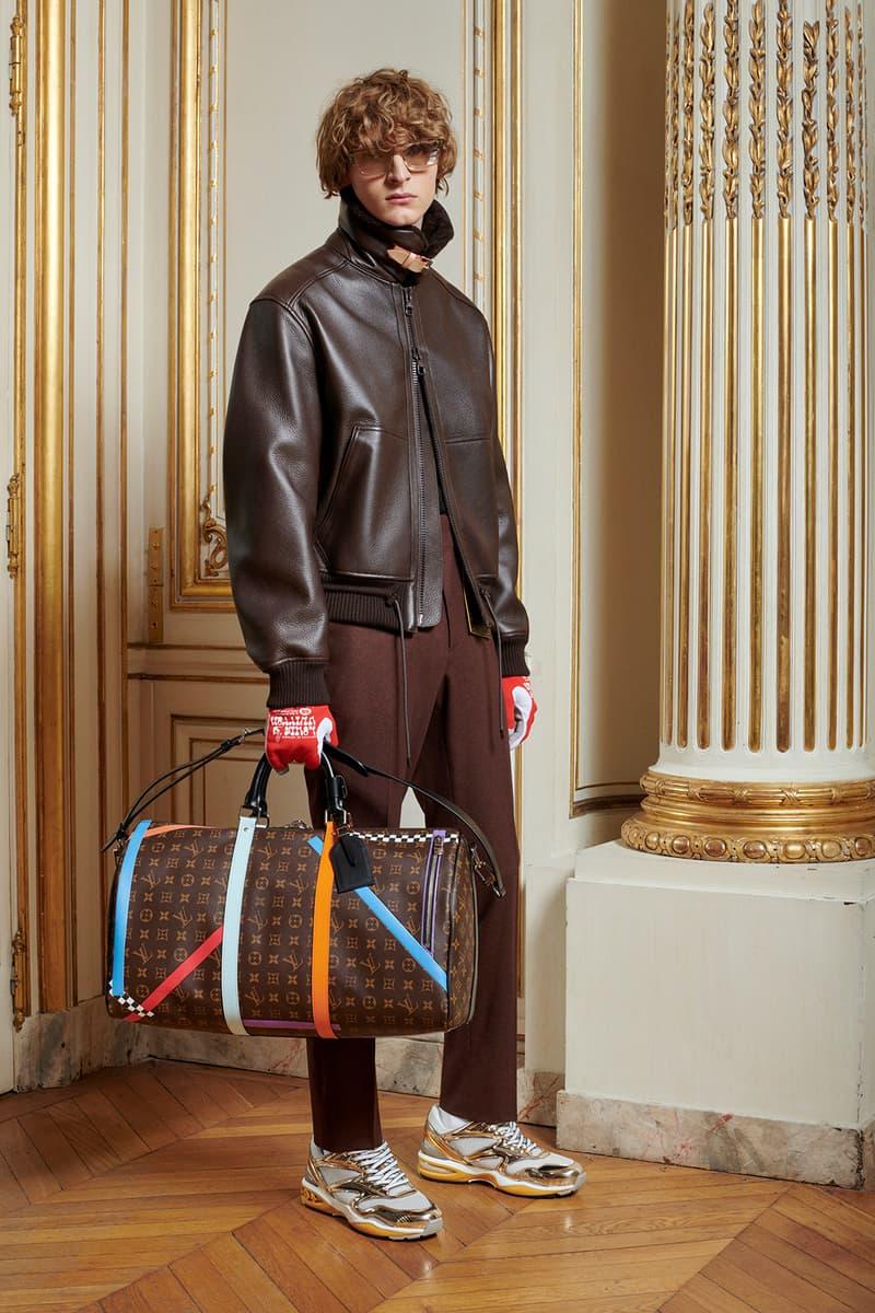Virgil Abloh Louis Vuitton Pre-Fall 2020 Collection Lookbook LV Monogram Duffel Bag