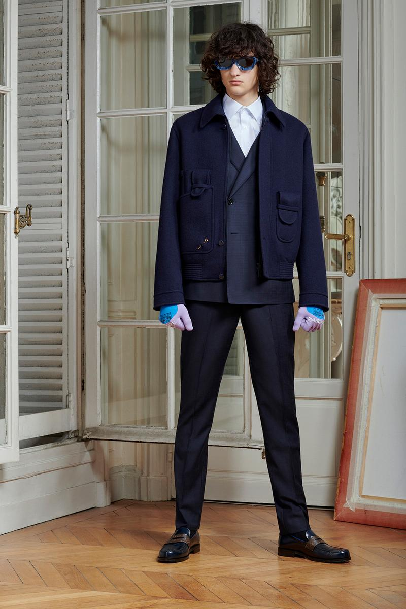Virgil Abloh Louis Vuitton Pre-Fall 2020 Collection Lookbook Double Breasted Blazer