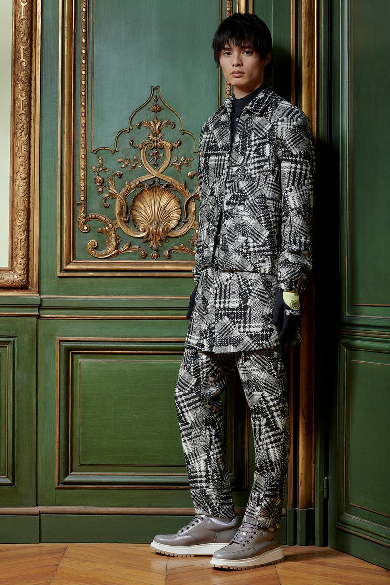 Virgil Abloh Louis Vuitton Pre-Fall 2020 Collection Lookbook Plaid Jacket Pants