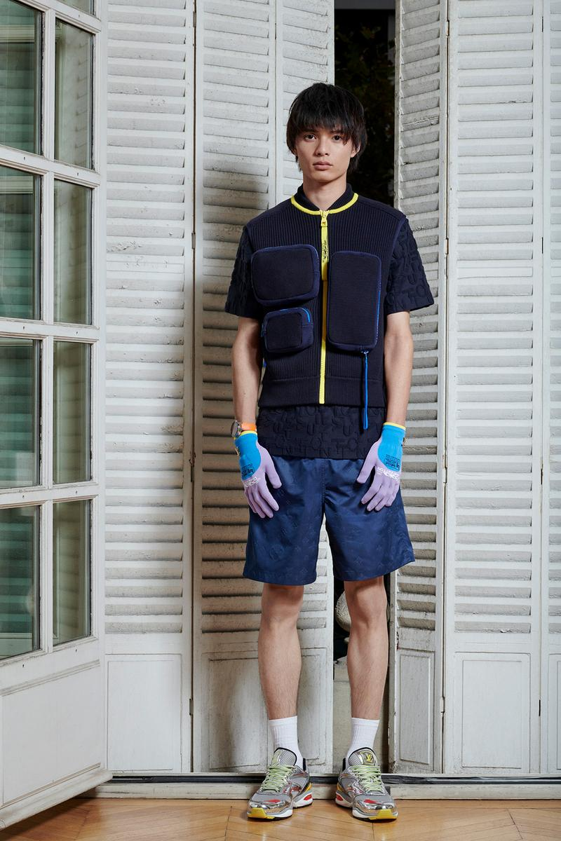Virgil Abloh Louis Vuitton Pre-Fall 2020 Collection Lookbook Pocket Shirt Shorts