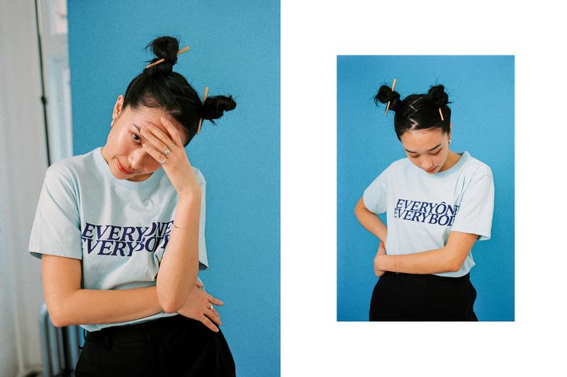 Fall Blues Editorial Jeremy Jude Lee Bianca Chandon Everyone Everybody T-Shirt Dries Van Noten Philips Pants