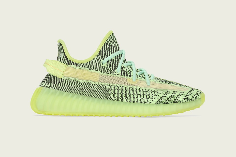 "Go Day-Glo in Kanye West's YEEZY BOOST 350 V2 ""Yeezreel"""