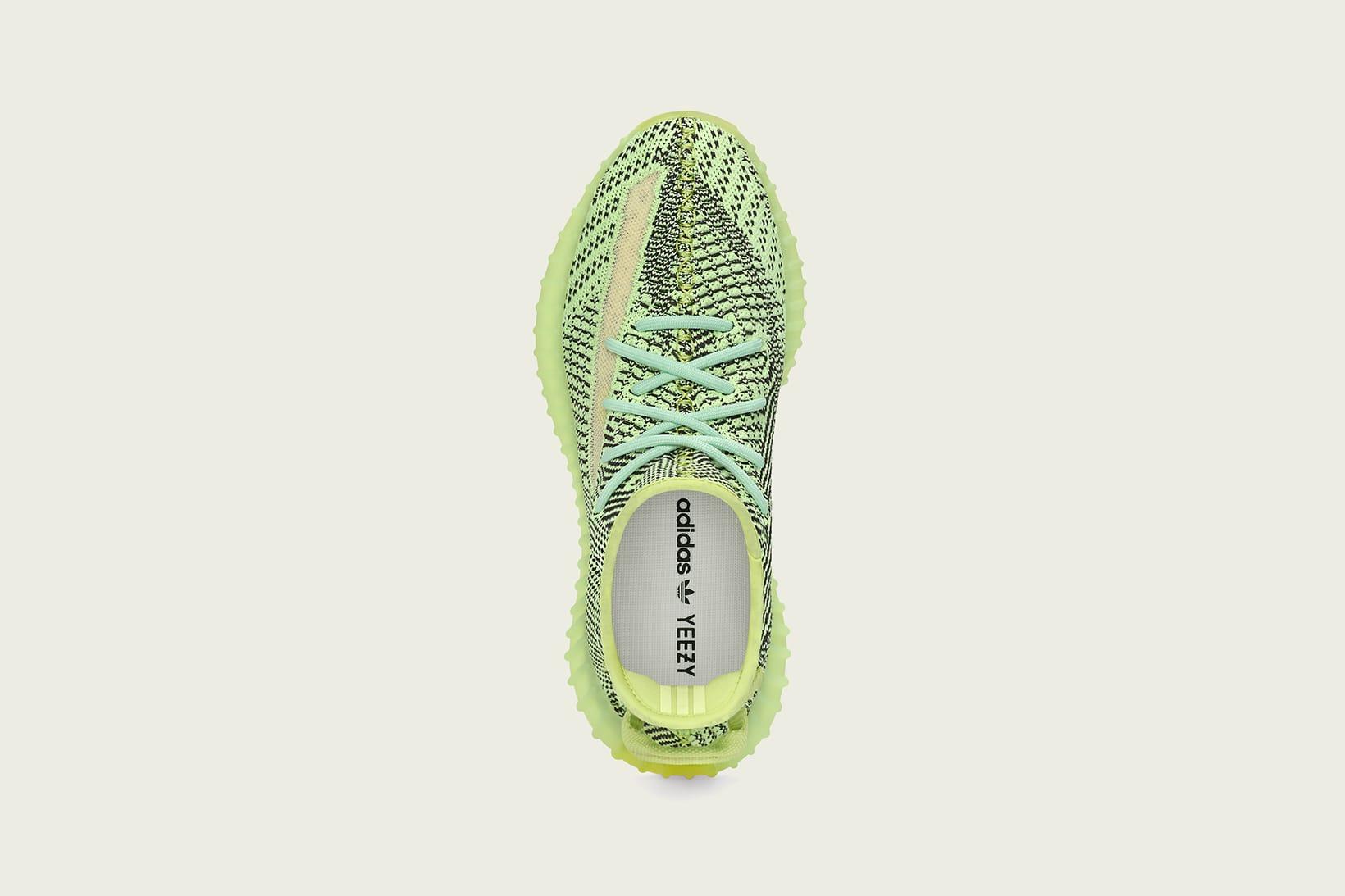 yeezy shoes neon