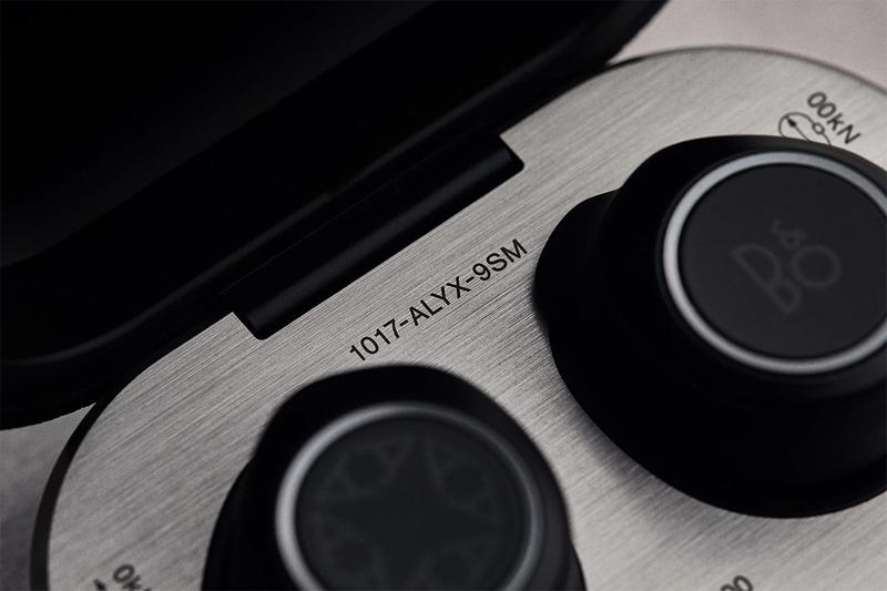 1017 alyx 9sm beoplay bang olufsen e8 2.0 release information matthew m williams leather black wireless earphones collaboration