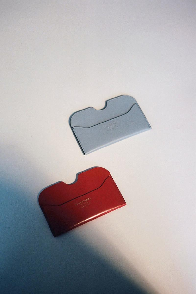 Acne Studios Spring/Summer 2020 Collection Cardholder Red Blue