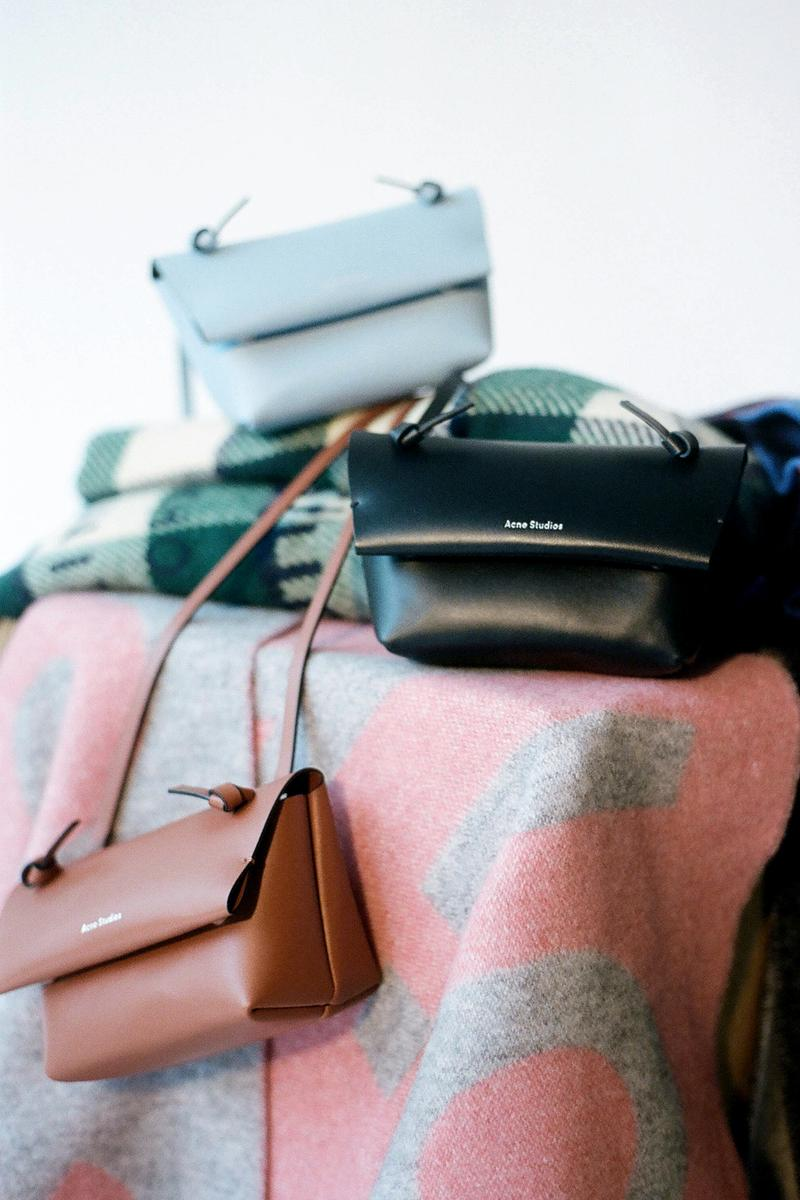 Acne Studios Spring/Summer 2020 Collection Mini Bag Brown Black Blue