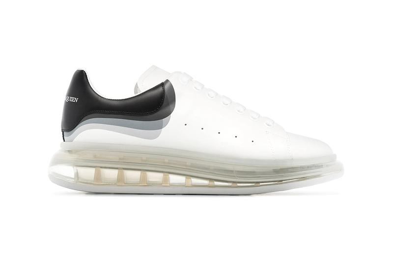 alexander mcqueen oversized white 3d sneakers chunky release price
