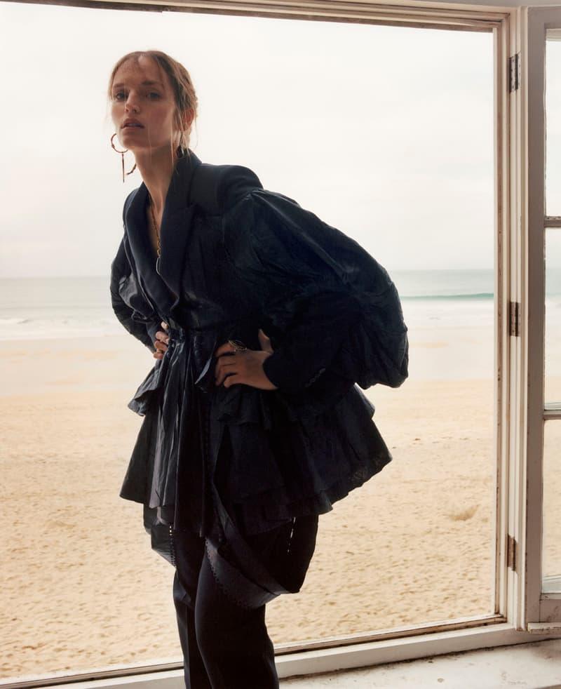 alexander mcqueen spring summer campaign lookbook sarah burton womenswear imaan hammam vivien solari felice noordhoff