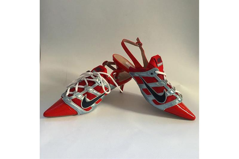 Ancuta Sarca Nike Kitten Heels Shoe Release Sneaker Upcycling Technique Sustainability