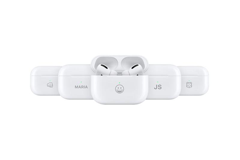 Apple AirPods Pro Case Emoji Engraving Options