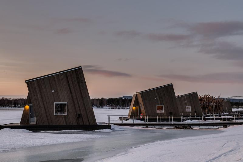 arctic bath hotel spa sweden swedish lapland ice nature environment cabin luxury wellness experience northern lights