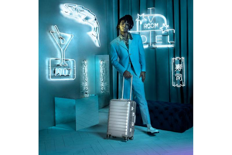 """Away """"Aluminum Edition"""" Suitcase Collection Silver"""