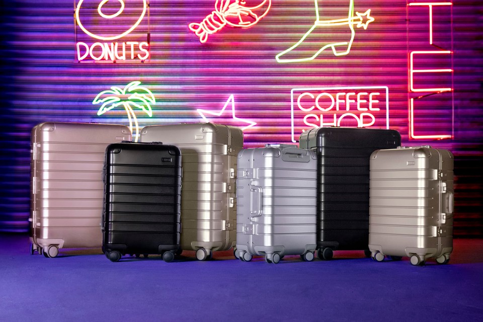 """Elevate Your Travel Game With Away's New """"Aluminum Edition"""" Suitcase Collection"""