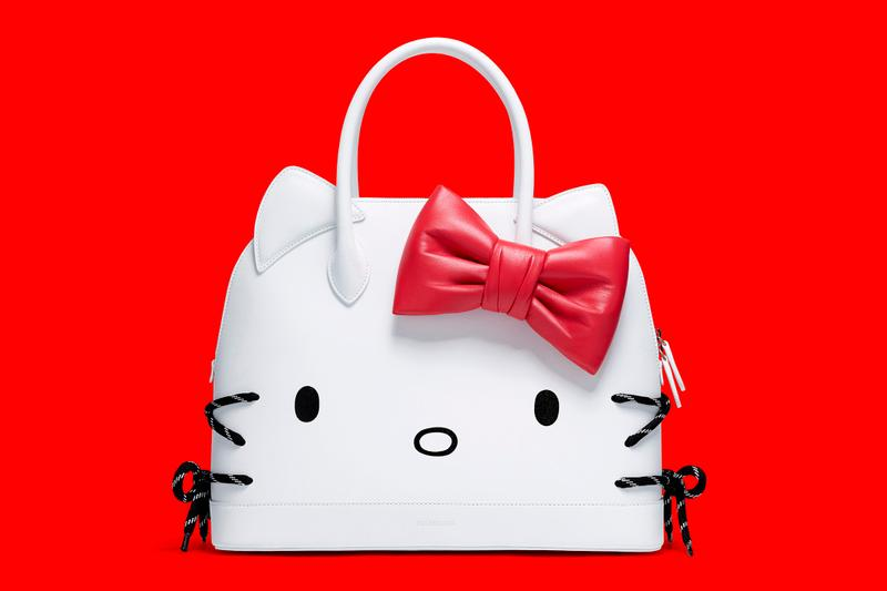Balenciaga Hello Kitty Bag SS20 Release Date White Red Accessori Sanrio