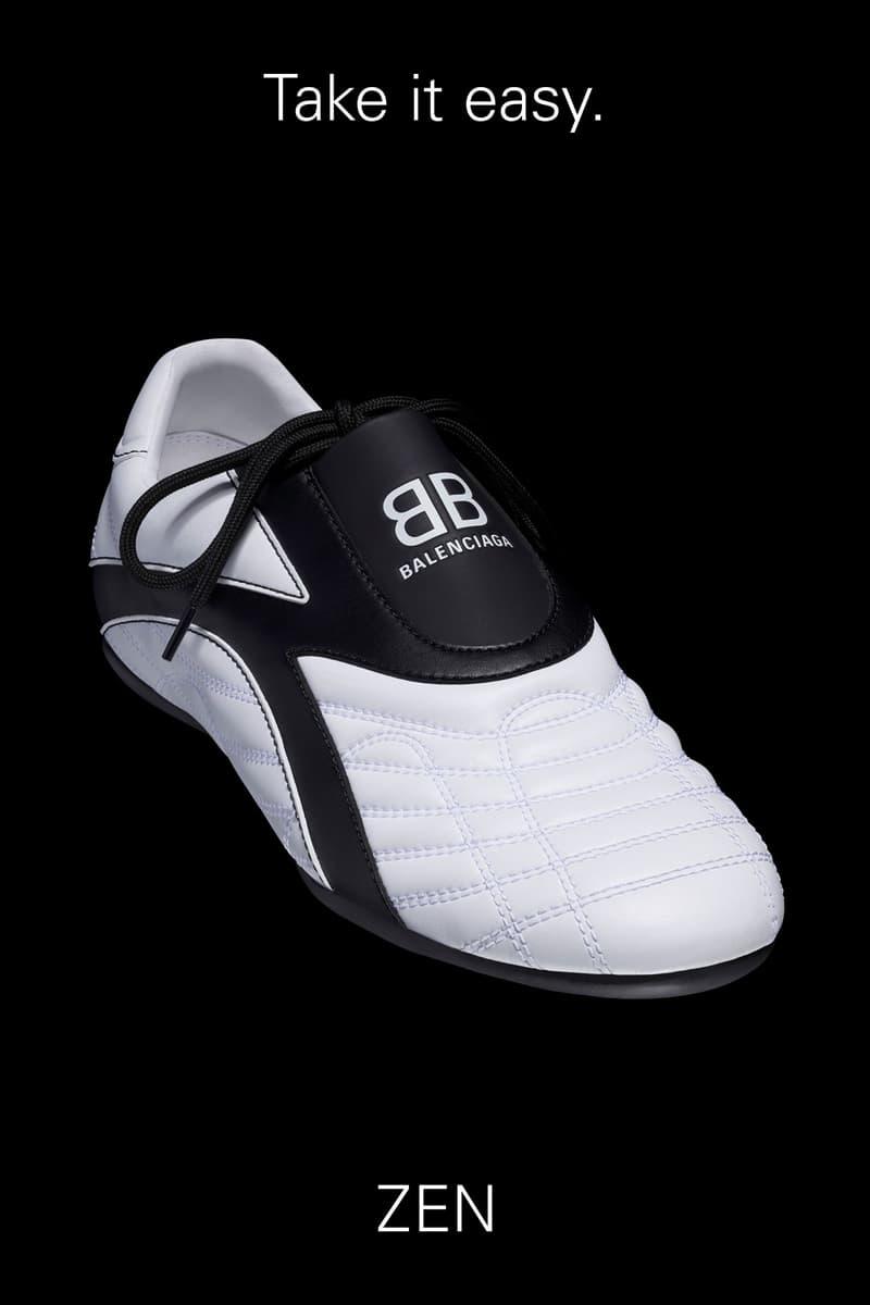 Balenciaga Zen Sneaker Shoe White/Black