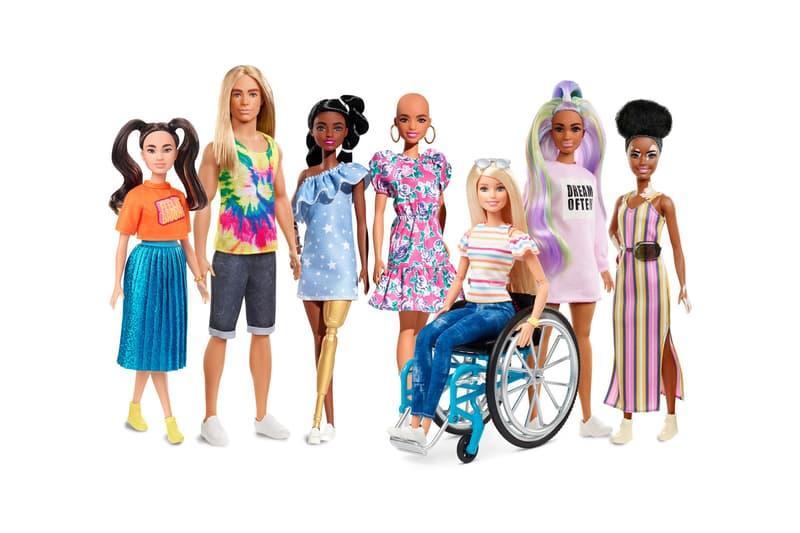 Barbie Doll Diverse Fashionistas Collection Vitiligo Prosthetic Limb Bald
