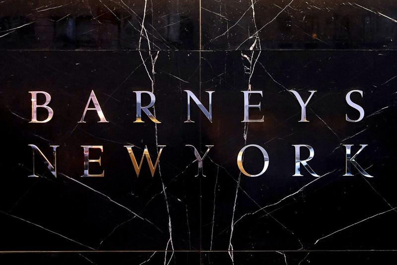 Barneys New York Logo Store Sign Exterior
