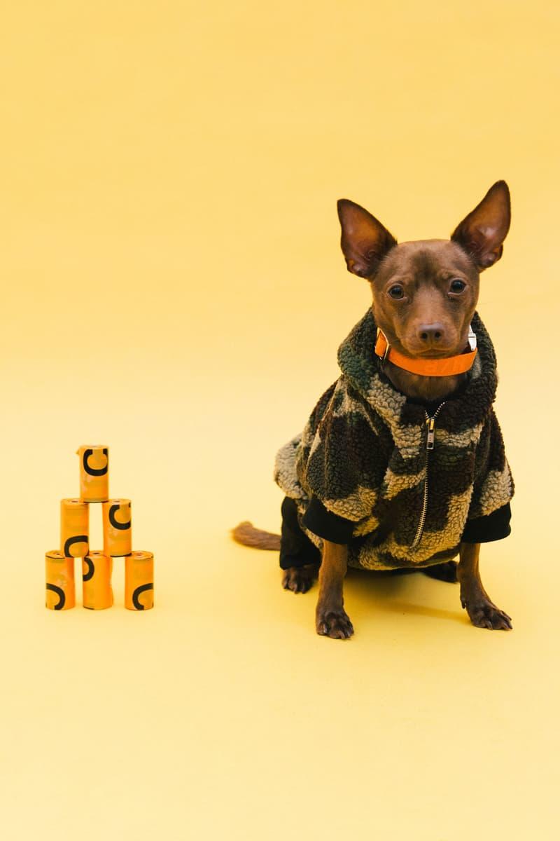 Best Dog Clothing Accessory Brands V.I.P. Camo Fleece Hoodie Heron Preston Jacquard Collar Poop Bags