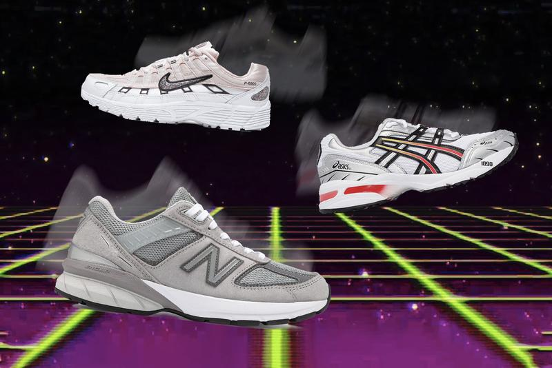 Best Retro Sneakers New Balance Asics Nike adidas Originals Shoes Vintage Aesthetic Design